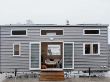 The Kahurangi Koinga Tiny House Runs Off-The-Grid In New Zealand