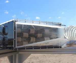 The Water Harvester Can Pull Water Out Of Thin Air