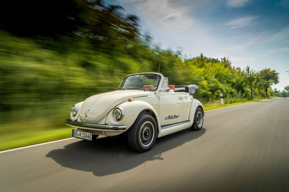 Volkswagen Wants To Make Its Beetle Into An e-Beetle