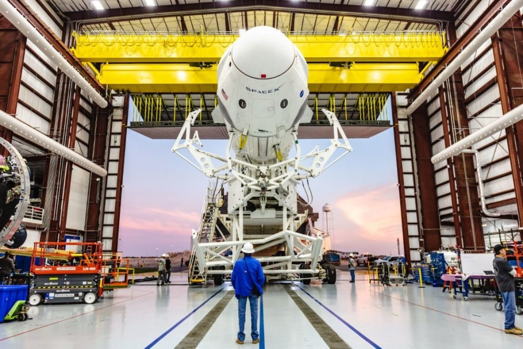Crew Dragon Is Back On track After A Successful Static Fire Test
