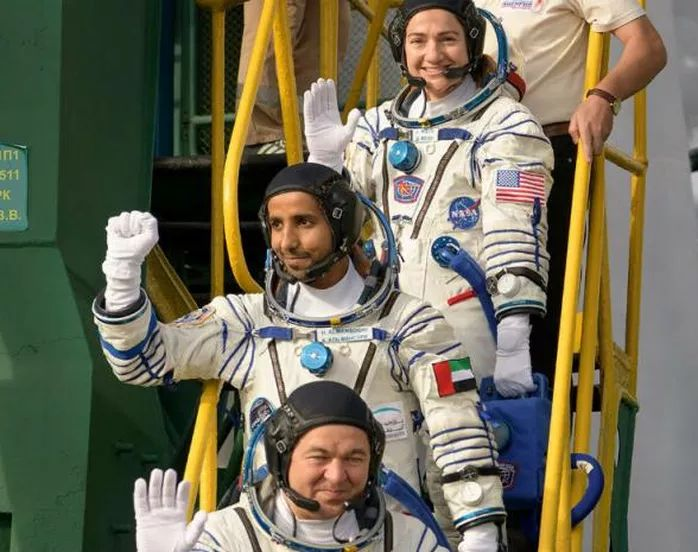 Hazzaa Al Mansoori, First Emirati Astronaut Has Entered ISS Thus Making History