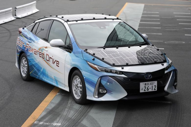 Toyota Is Working On A Prius Model That Will Run Forever On Solar Power