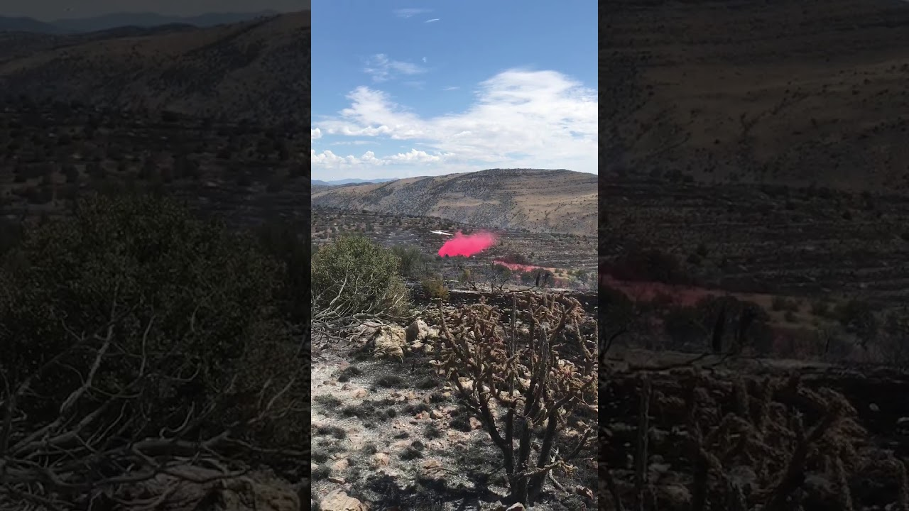 A BA 146 Firefighting Plane Almost Crashed Into A Mountain