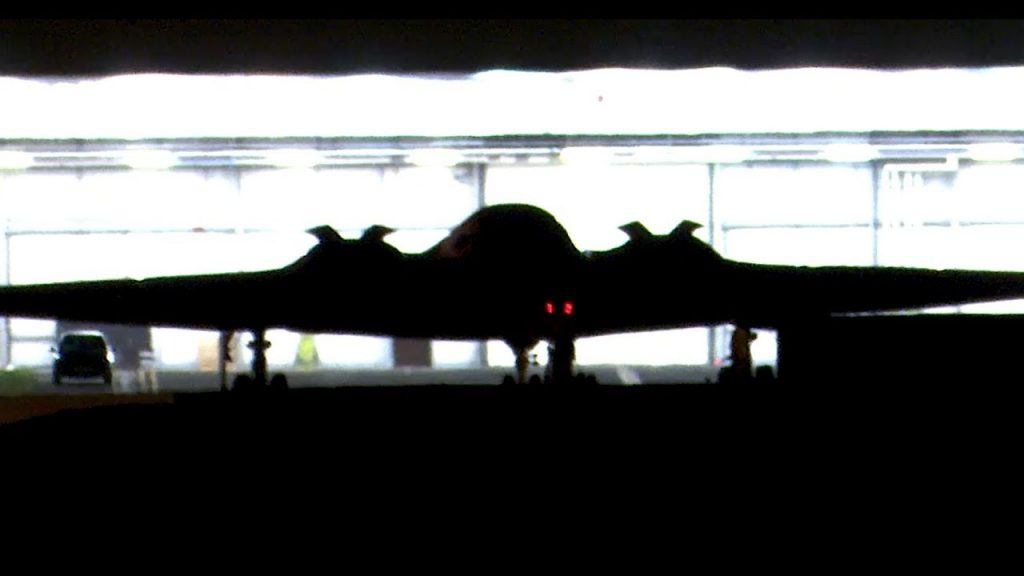 B-2 Bombers Look Like UFO During A Night Landing In This Video
