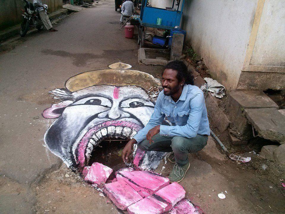 Baadal Nanjundaswamy Moonwalked To Get A Road In Bangalore Repaired
