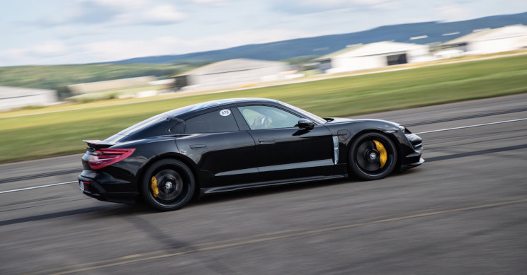 The Porsche Taycan Is Porsche's First All-Electric Sports Car