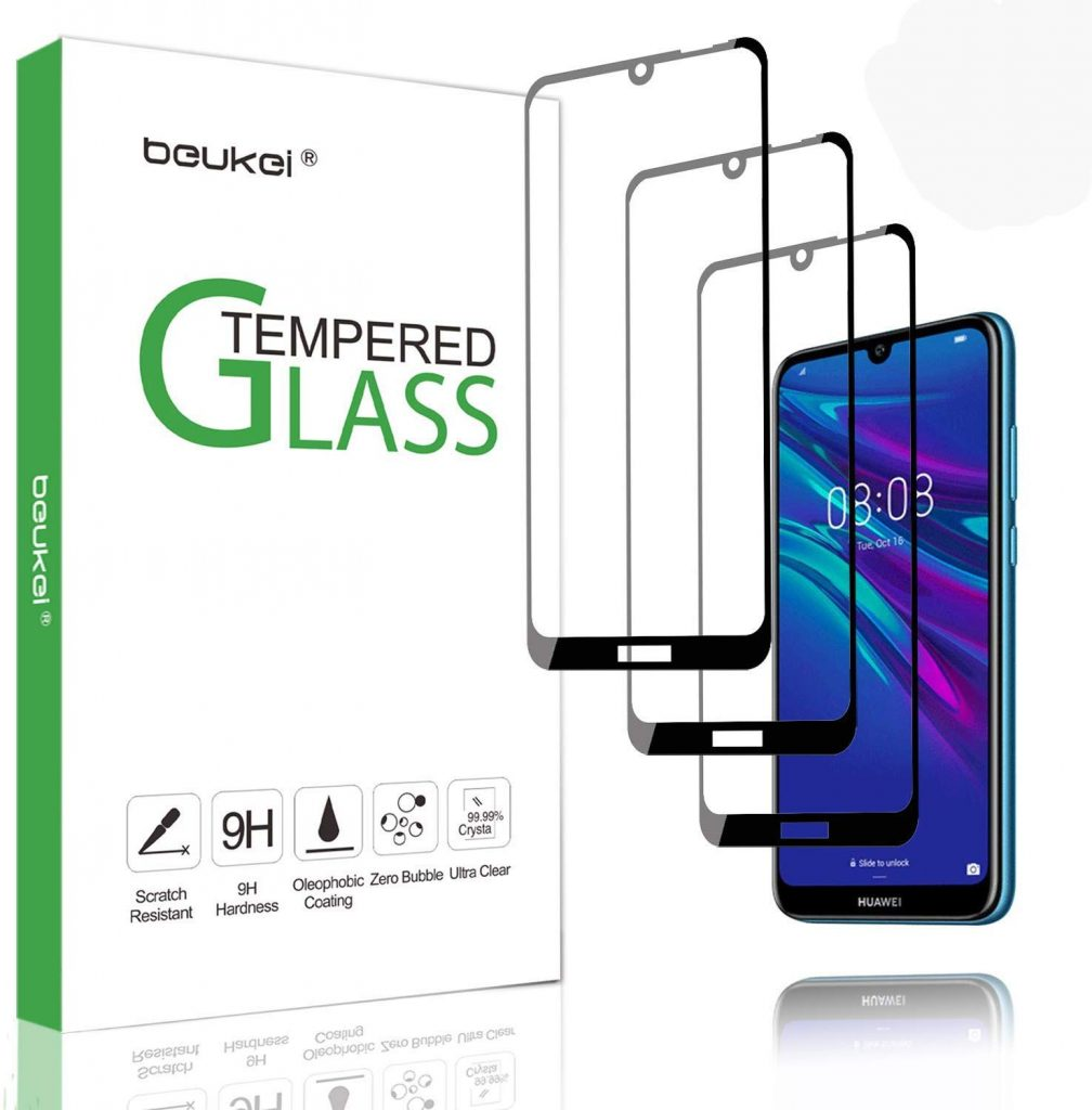 Tempered Glass Screen Protector Compatible with Galaxy M30 UNEXTATI 9H Hardness Screen Protector Film HD Clear Tempered Glass Film for Samsung Galaxy M30 1 Pack