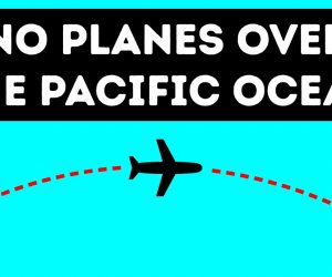Learn Why Pilots Prefer To Avoid Flying Over The Pacific Ocean