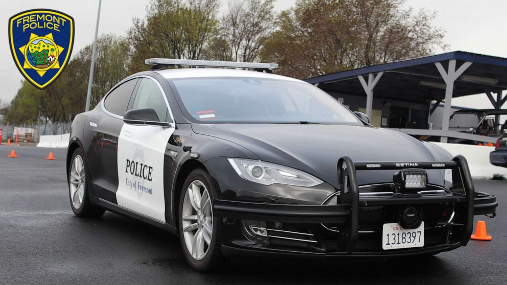 Fremont Police's Tesla Almost Ran Out Of Battery During Car Chase