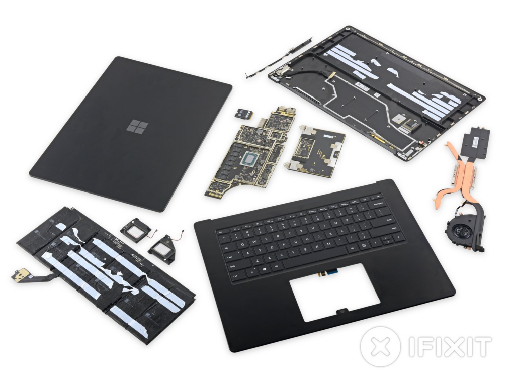 Magnets Are What Makes Microsoft's Surface Laptop 3 More Repairable