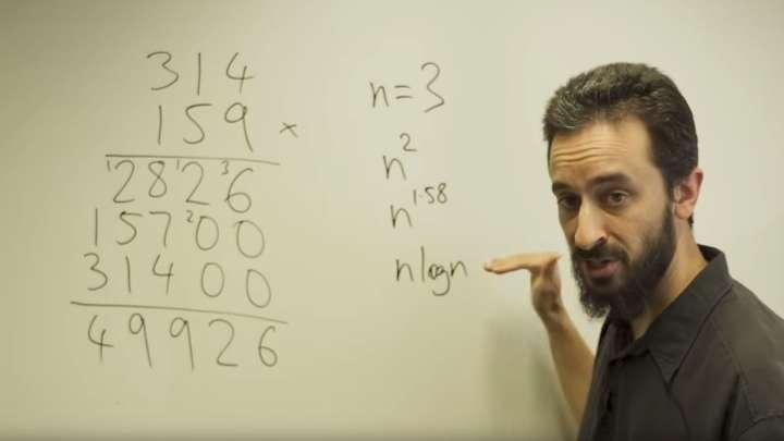 Professor David Harvey Has Found A Quicker Way Of Multiplying