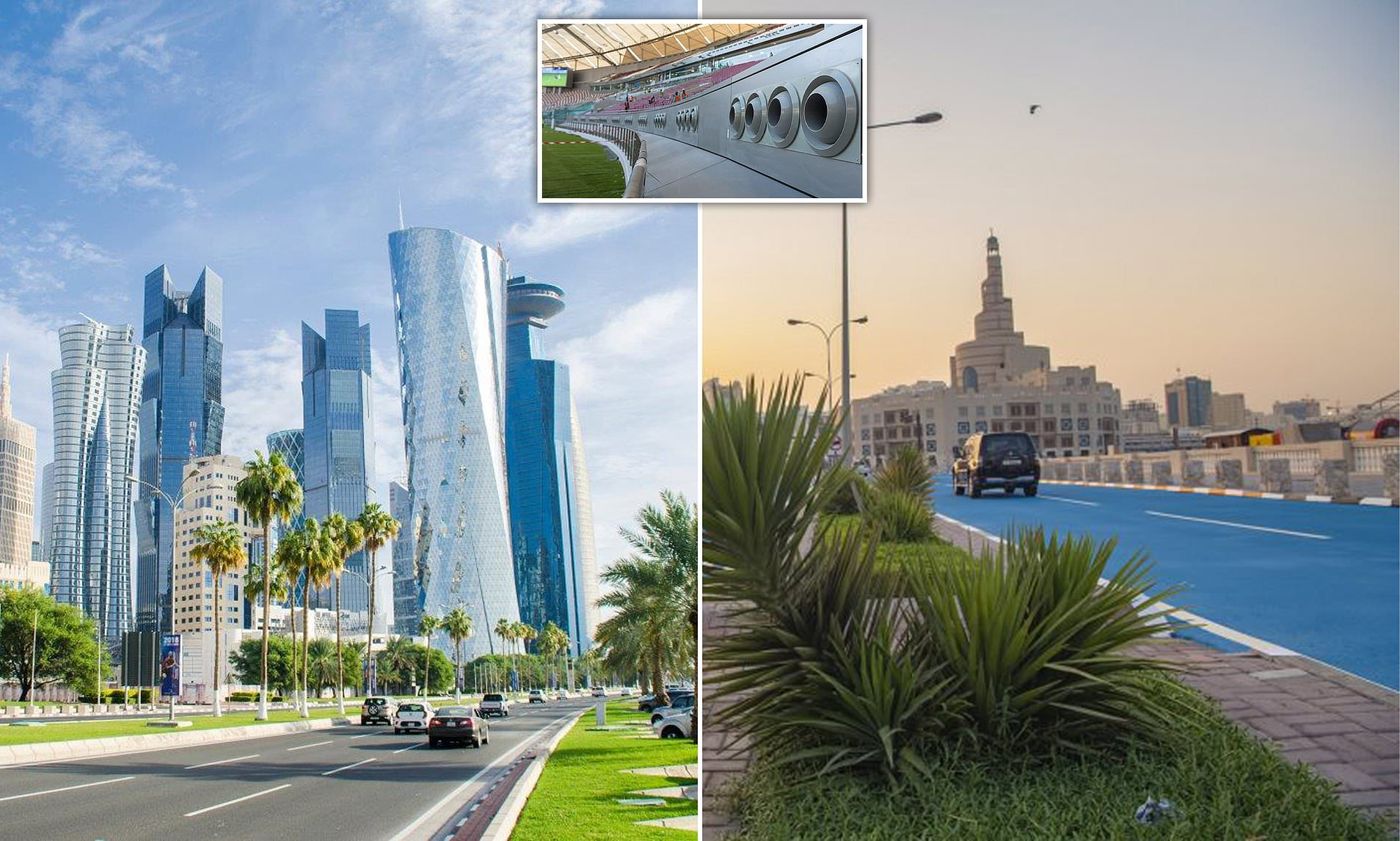 Qatar Is Now Air-Conditioning Its Outdoors Because Of The Heat