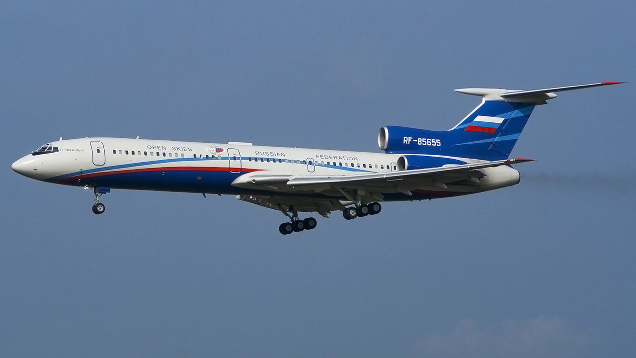 Open Skies Treaty Is Why A Russian Tupolev 154 Is Flying Over The US