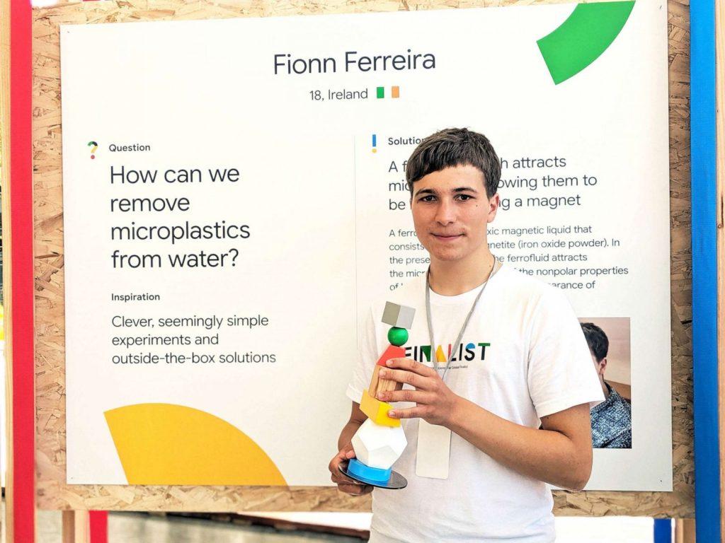 Teenage Won Google Science Award For Removing Microplastics