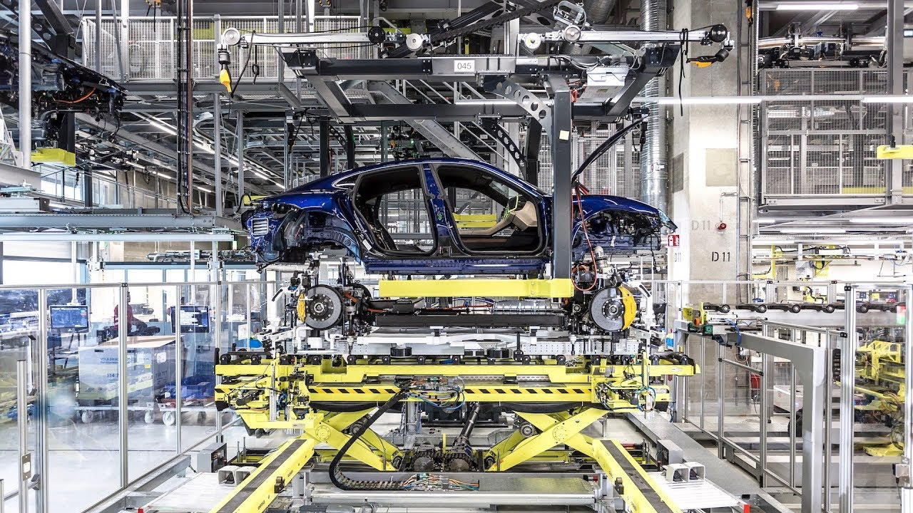 Watch How The Taycan Is Made In A Porsche Factory In This Video