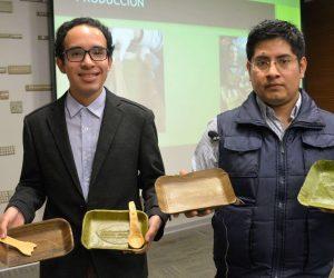 Bio Plant Is Making Bio-Degradable Dishes Using Banana Leaves