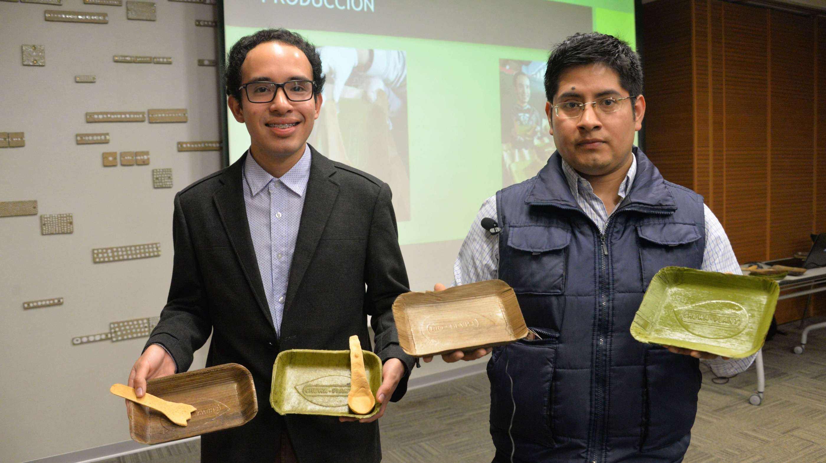 Bio Plant Is Making Bio-Degradable Dishes Using Banana Leaves