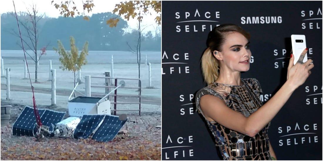 Samsung's Space Selfie Satellite Has Crashed Down!