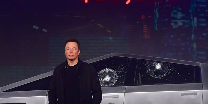 Elon Musk Explained Why The Windows Of Cybertruck Got Smashed