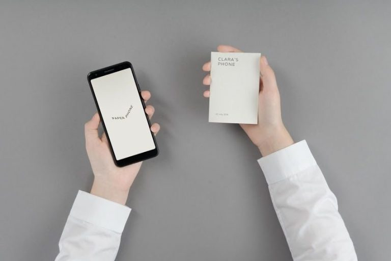 Paper Phone App Can Help You Go On A Digital Detox