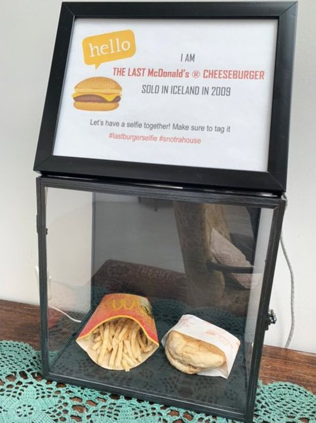Iceland Is Livestreaming A Decade-Old Burger And Fries From McDonald's