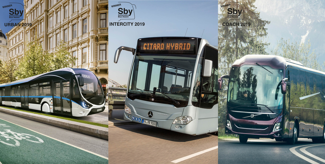 Sustainable Bus Award For The Intercity Goes To Iveco Bus