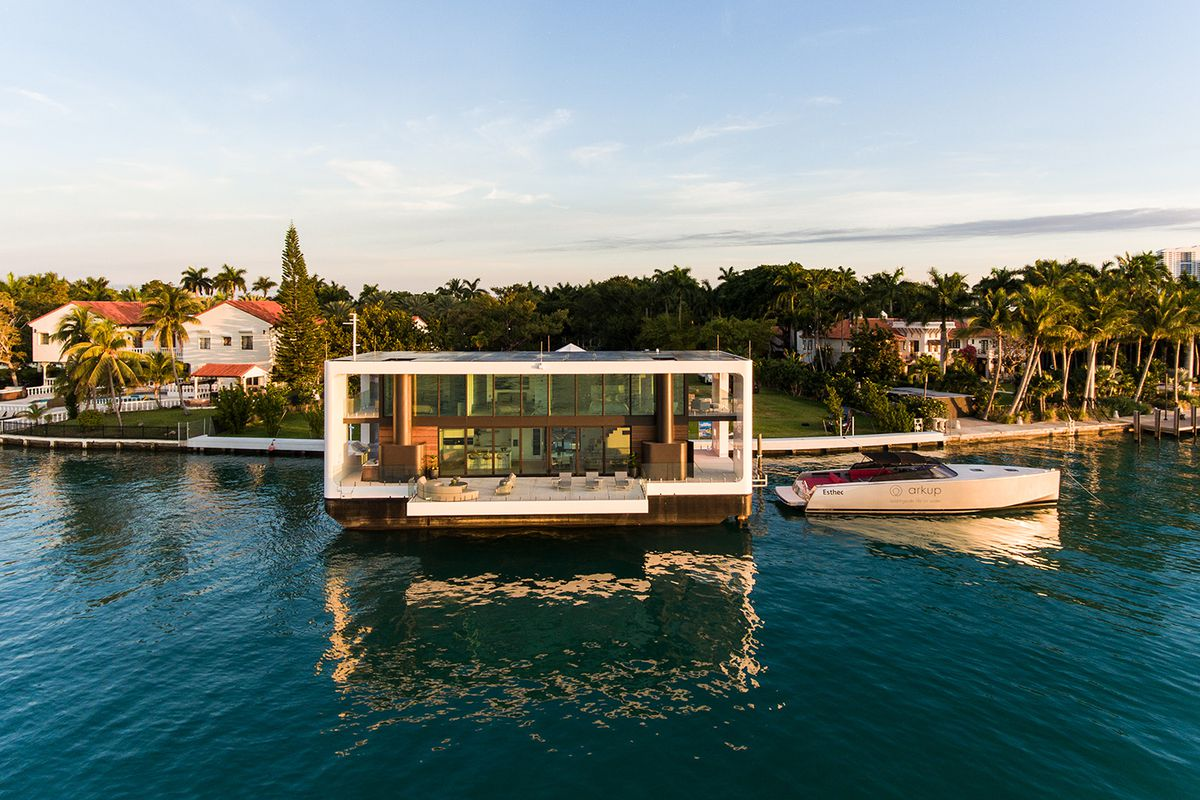 The Arkup Is A Luxury Yacht Designed Like A Modern Villa