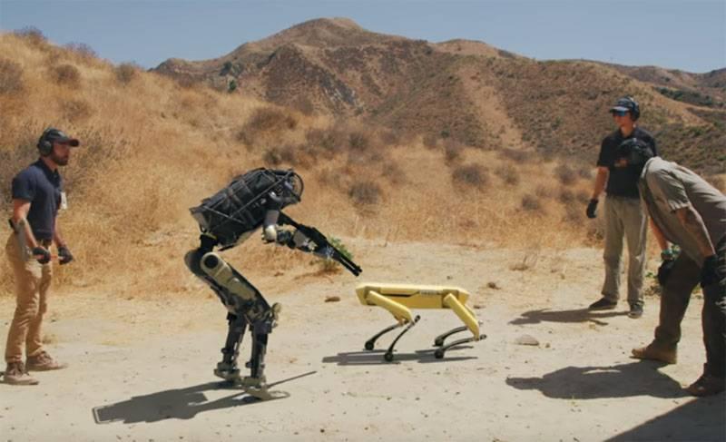 Corridor Demonstrates Bosstown Dynamics' Robot