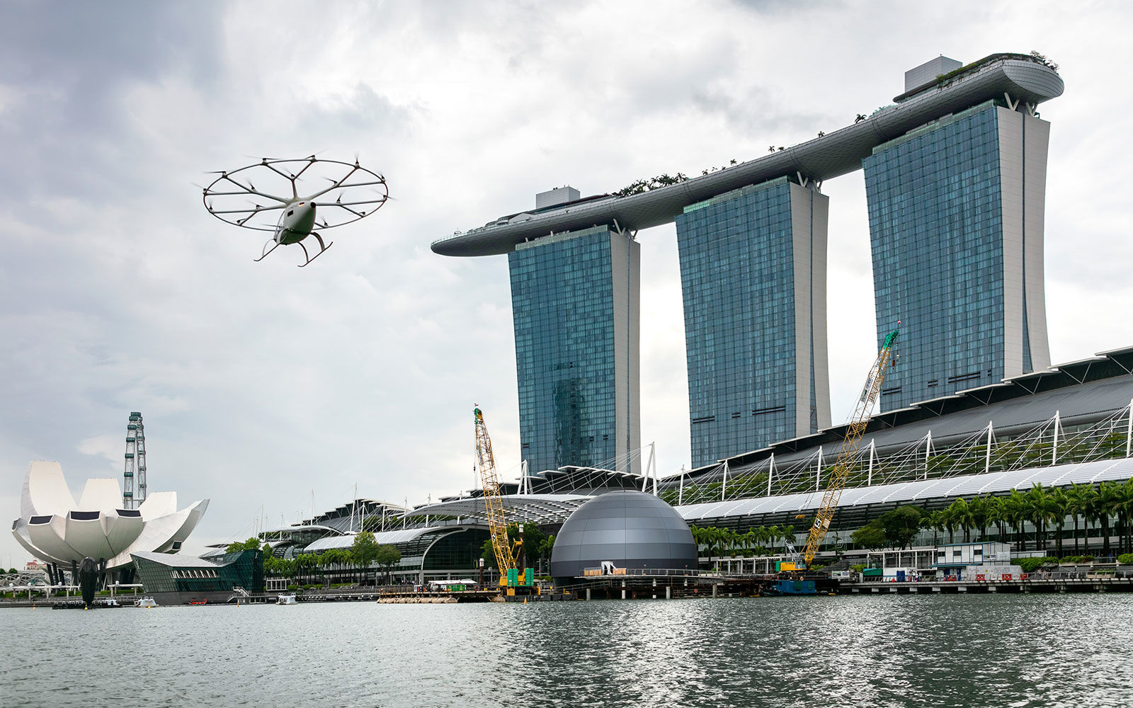 Volocopter's VoloDrone Is A Massive Utility Drone That Can Carry 200 Kgs
