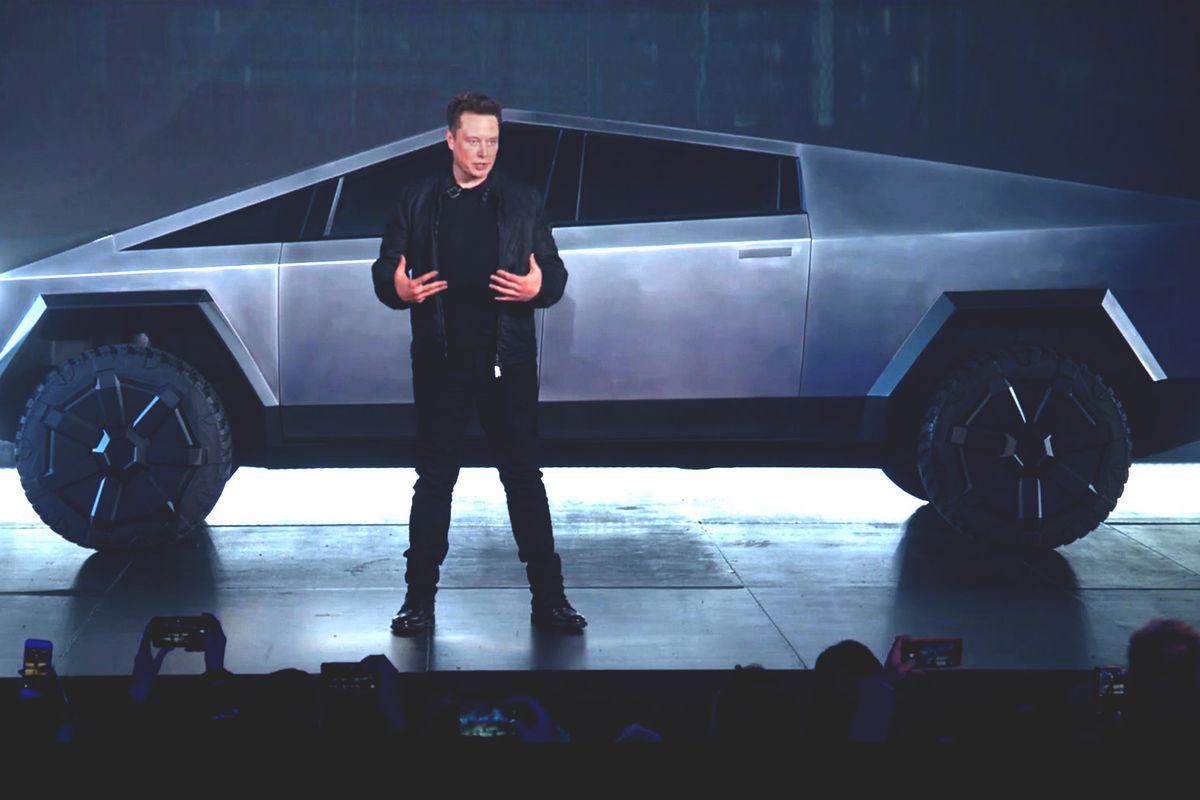 Check Out The Amazing Cybertruck From Tesla!