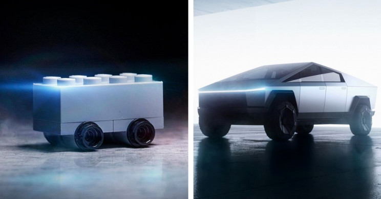 Lego Trolled Tesla With Its Own Version Of Cybertruck