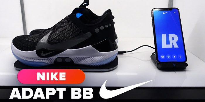 Check Out Nike's New Self-Lacing Shoes