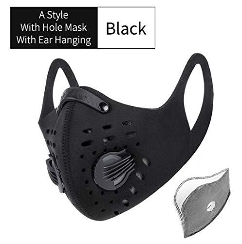 black respirator mask n95