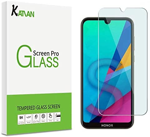 Ultra Clear Tempered Glass Screen Protector 2 Pack Anti Scratch Screen Protector Glass for Huawei Honor 8S Bear Village Screen Protector for Huawei Honor 8S