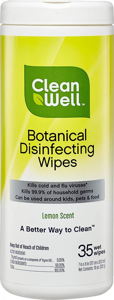 10 Best Disinfectant Wipes for Coronavirus