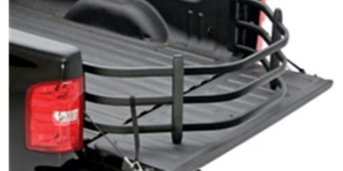 AMP Research 74817-01A Black Truck Bed Extender BedXTender HD Max