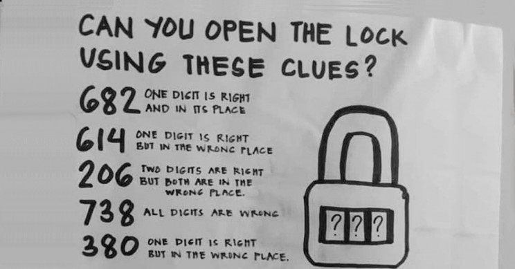 Check Out This Open The Lock Puzzle That Has People Confused