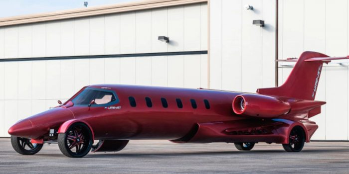 Learmousine – A Mix Of Learjet And Limousine – Is Going Up In Auction