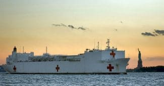 US Navy Deploys Hospital Ship USNS Comfort!