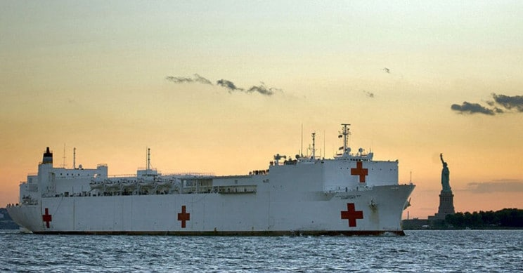 US Navy Deploys Hospital Ship USNS Comfort!
