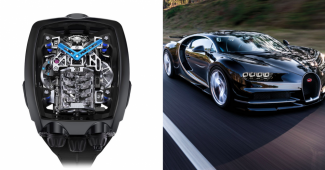 Check Out Bugatti Chiron Tourbillon Watch Created By Jacob & Co.