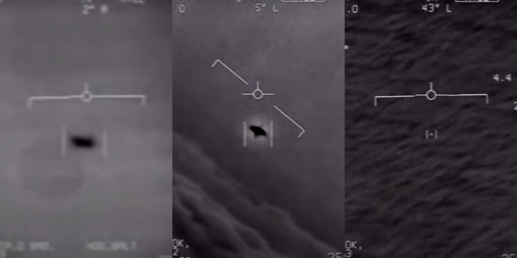 Pentagon Released Three UFO Videos Shot By The US Navy Pilots