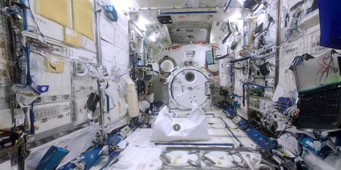 Sketchfab Tour Of The ISS Using Photogrammetric 3D Reconstruction