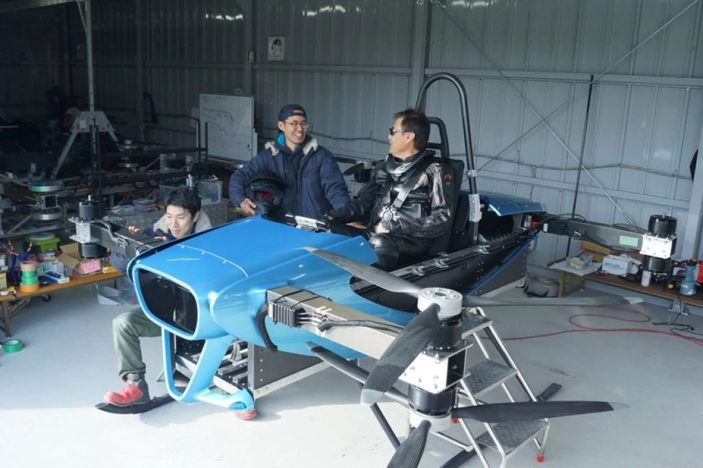 SkyDrive Says It Has Pulled Off Japan's First Manned Multi-rotor Flight