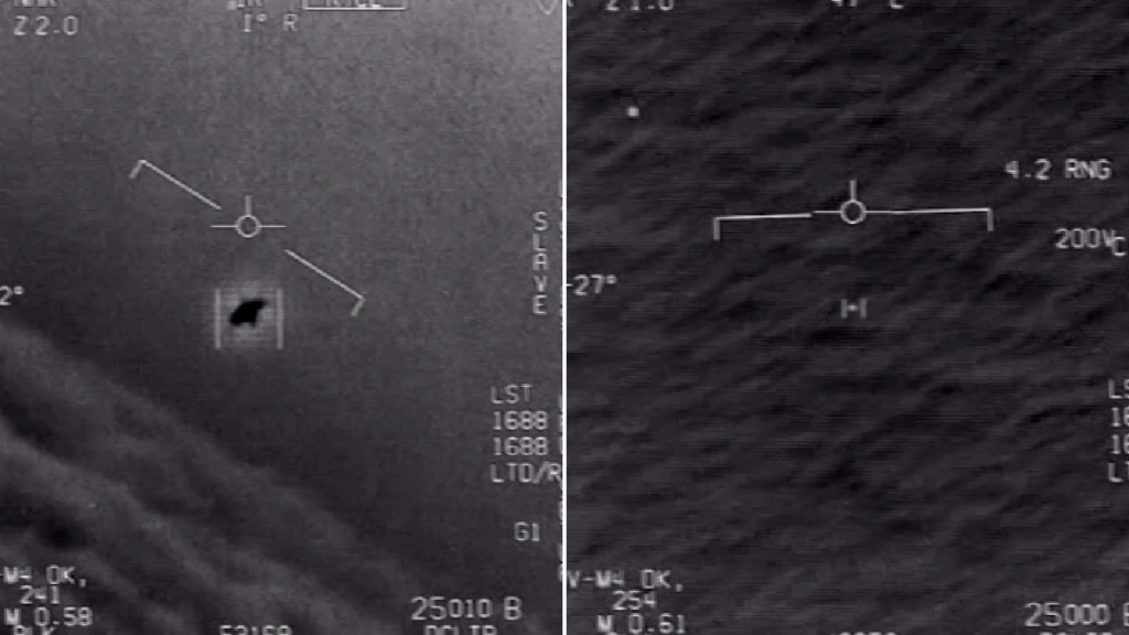 Pentagon Released Three UFOs Videos Shot By The US Navy Pilots