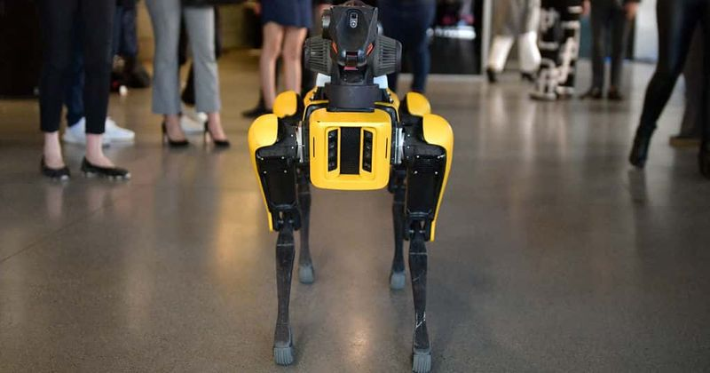 Spot By Boston Dynamics Is Helping Doctors Treat COVID-19 Patients