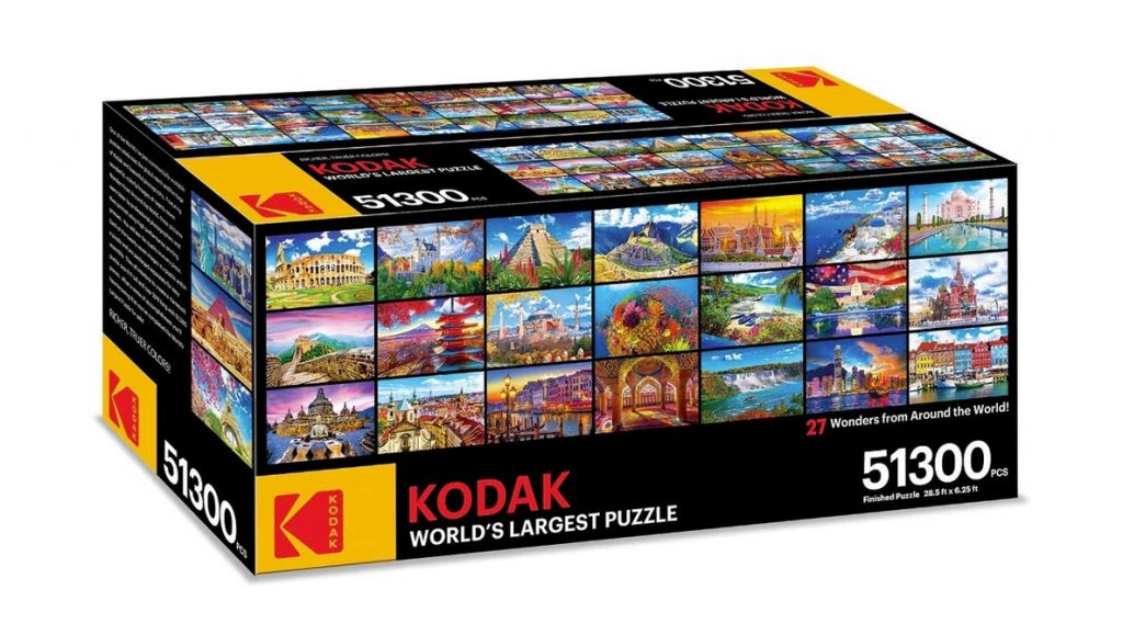 Kodak World's Largest Commercial Jigsaw Puzzle Sold Out On Amazon