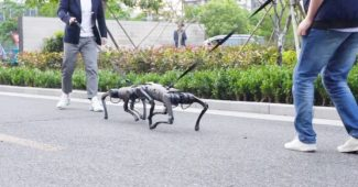 The A1 Robot Dog Can Look For Its Owner And Fight Like A Real Dog