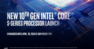 Intel 10th Generation Core S-Series Desktop Processors Shown Off