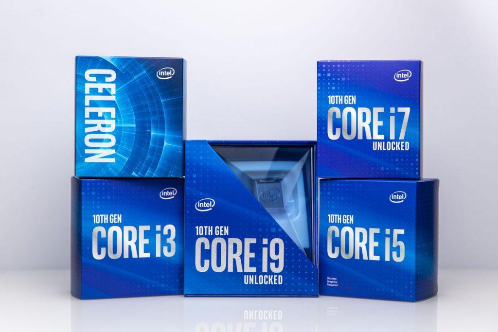 Intel 10th Generation Core S-Series Desktop Processors Shown Off
